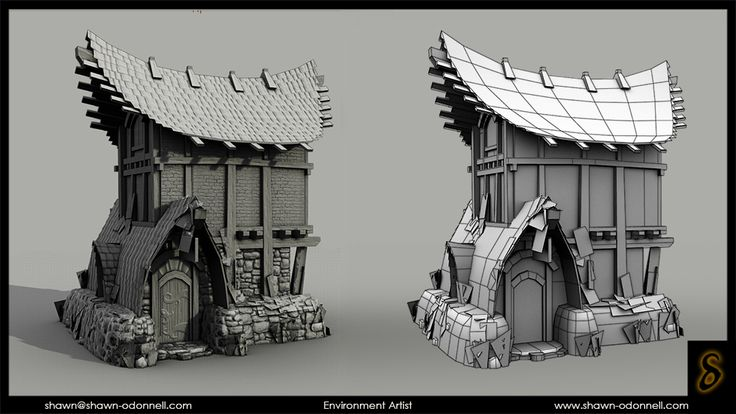 ArenaNet Environment Art Test - Polycount Forum