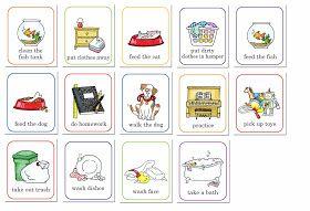 Printable job chart for little ones