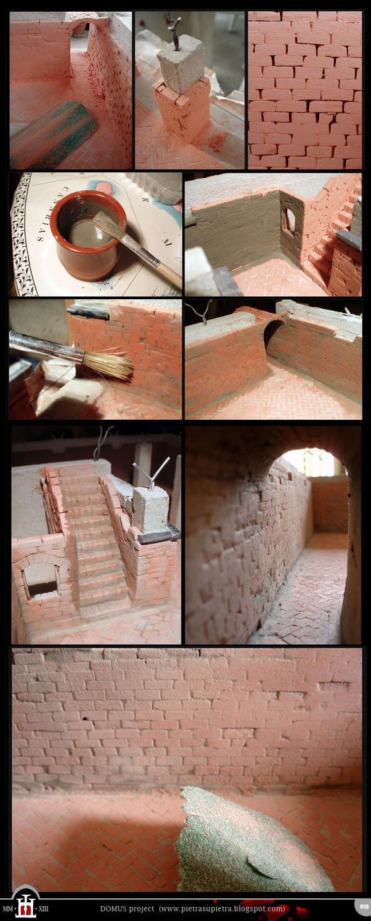Domus project 10: Brick walls (part II) http://pietrasupietra.blogspot.com/2012/01/construction-10-brick-walls-2.html