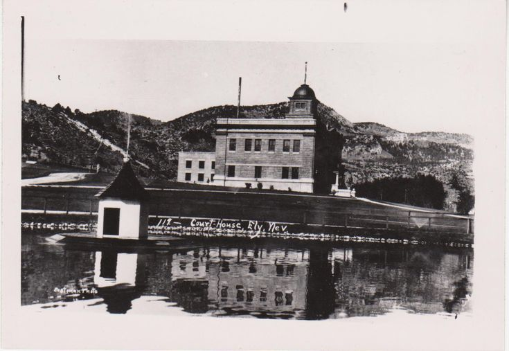 White Pine County Court House ~1912