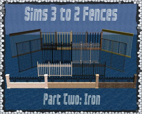 JodelieJodelie's Sims Stuff - WCIF the cute stone fences you used outside the...