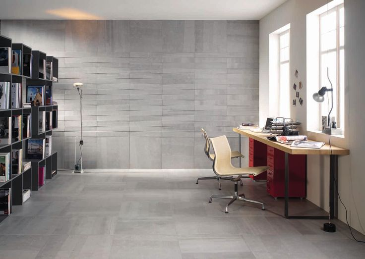 Marazzi #Block Black 90x90 cm MM5E #Feinsteinzeug #Betonoptik - boden für badezimmer