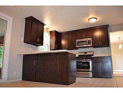 Best Dark Cabinets With White Trim Home Sweet Home Pinterest 400 x 300