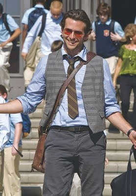 Mr. Bradley Cooper in the hangover, proper teacher dress code.