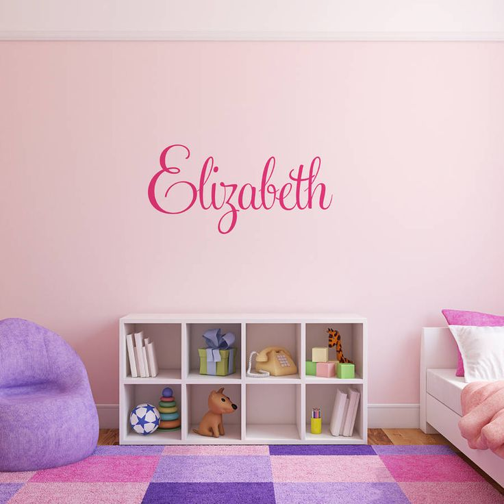 Personalised Name Wall Stickers Part 51
