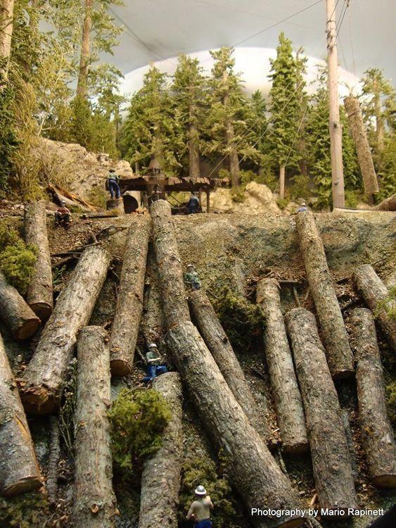 Hangman Creek Lumber Company #toytrainsets #hobbytrains | Hobby