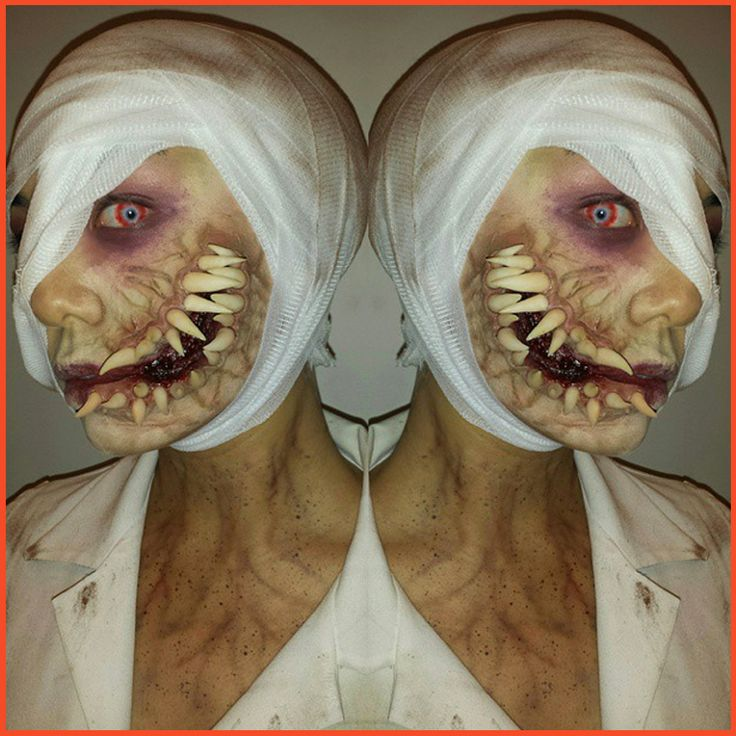As if you didn't harbour enough horror of the dentist's office, here's just a little bit more! A freaky behind-the-scenes Special Effects peek from Blanche Macdonald Global #Makeup student Sandy Wai! #spfx #Makeupschool