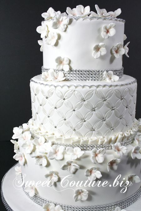 Gâteau de Mairage Nuit Blanche Wedding cake