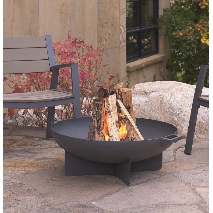 Anson Steel Wood Burning Fire Pit Pergolafirepit Fire Pit