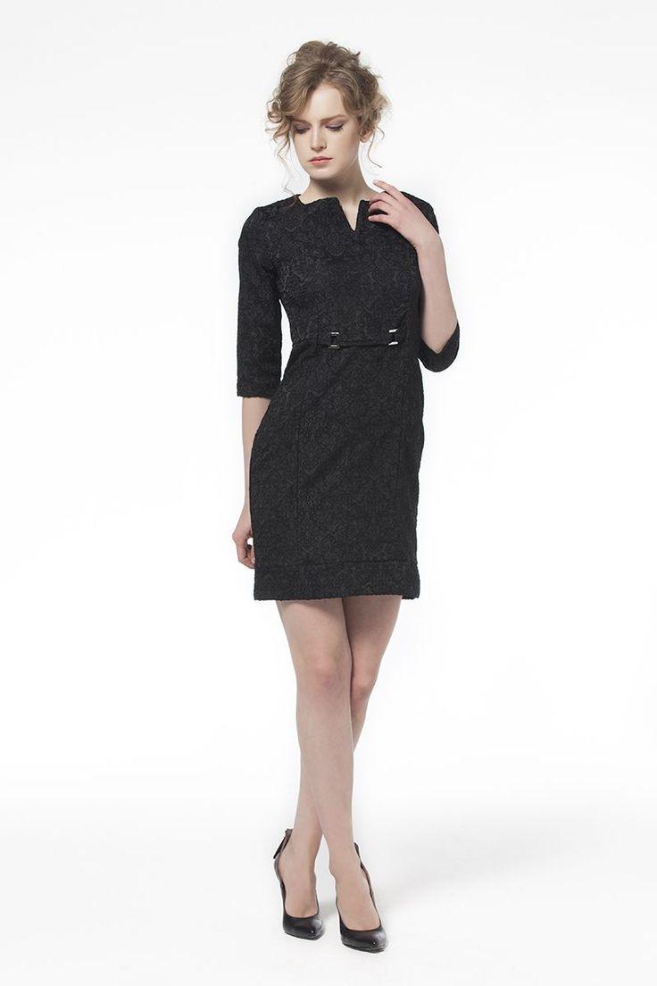 Dantel Desenli Elbise Siyah Dantel Desenli Elbise Siyah Elbise En Trend Elbiseler 89,90 TL