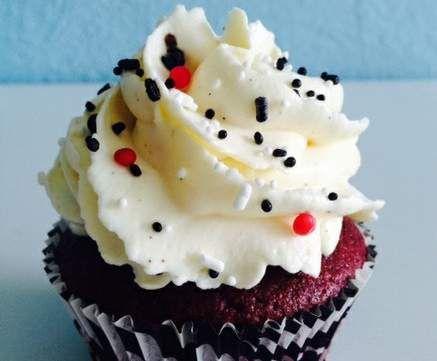 Rezept Red-Velvet Cupcakes von Cyle - Rezept der Kategorie Backen süß
