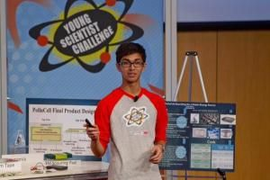 #SahilDoshi - won Discovery Education 3M Young Scientist Challenge 2014