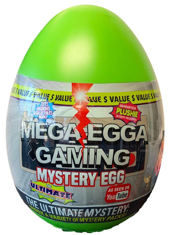 MegaEgga Mystery Egg GameStop in 2020 Toddler girl