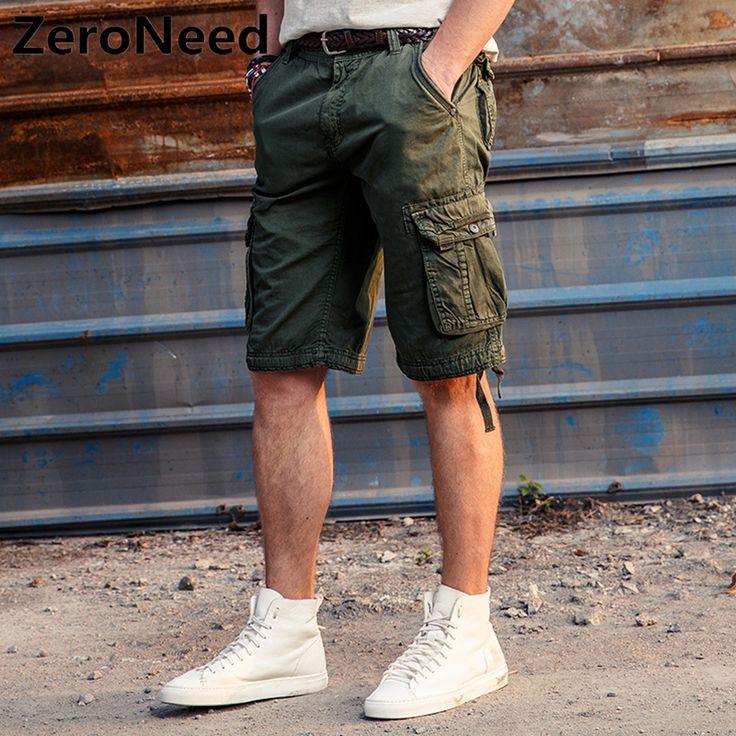 Cargo Shorts Bermuda Multi-pocket Shorts Brand Men Khaki Trousers Summer Army Workout Wear Bottoms Homme Joggers mma Short 190