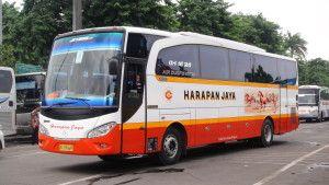 Informasi tentang harga tiket Bus Harapan Jaya terbaru