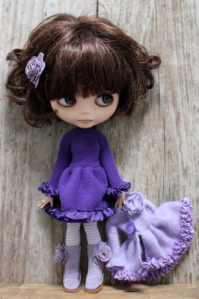 Purple Fleece Dress   by Abi Monroe