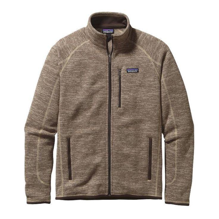Cody. Christmas.Patagonia Men\'s Better Sweater\u00AE Fleece Jacket - Pale Khaki PEK
