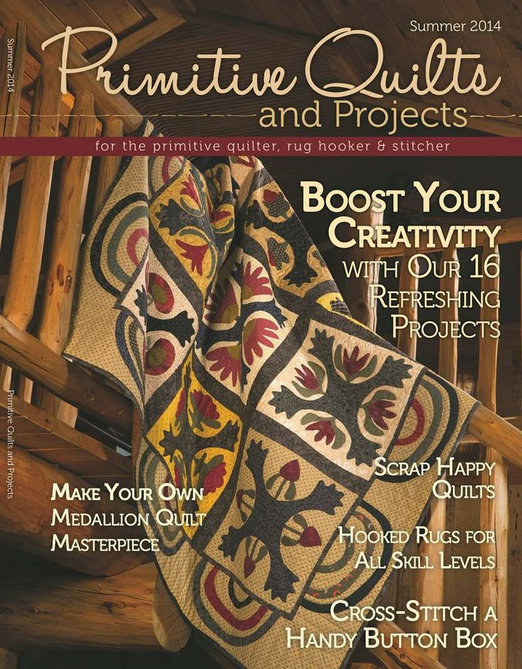 112 best Primitive Quilts and Projects images on Pinterest ... : primitive quilts and projects magazine - Adamdwight.com