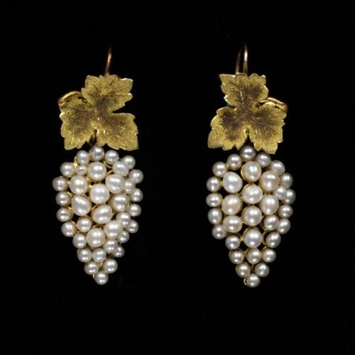 Necklace and Earring set ca. 1850 via  The Victoria & Albert Museum