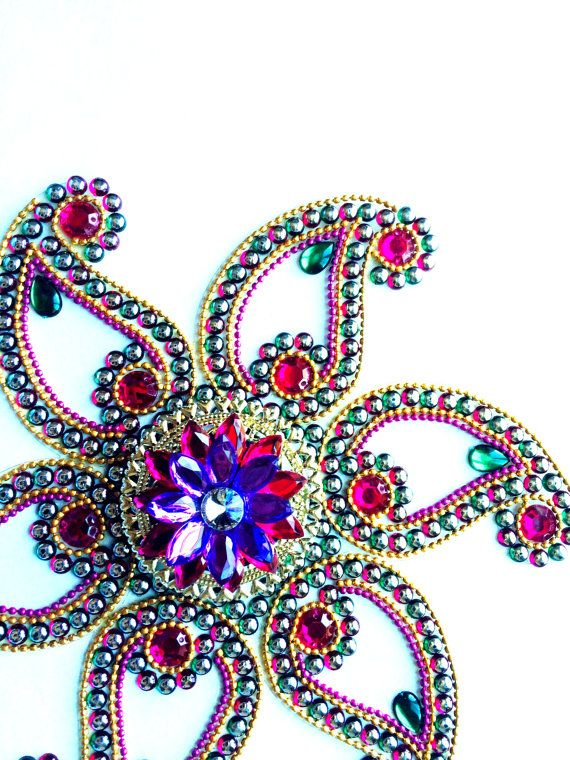 Hey, I found this really awesome Etsy listing at https://www.etsy.com/listing/205916511/diwali-rangoli-rangoli-kundan-rangoli