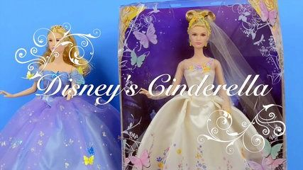 Disneys Wedding Day Cinderella Doll- día de la boda Muñeca de la Cenicienta | موفيز هوم  We open up the Cinderella Wedding Day Barbie sized doll from the new Disney live ion film Cinderella. We look at her Wedding Dress and Jewelry and compare to the Royal Ball Doll from the . We also compare her to Elsa and Anna from Frozen Fever and an older wedding Barbie.\r \r See the official US Cinderella Trailer here\r \r \r See the Cinderellatrailer here\r \r \r See the Elsa and Anna frozen fever…