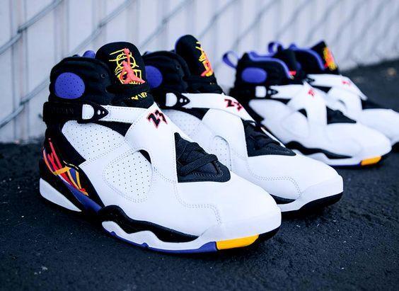 16b02fed6265f7 ... Air Jordan 8 Retro White fashion nike shopping sneakers shoes  2018  Latest Air Jordan 7 ...