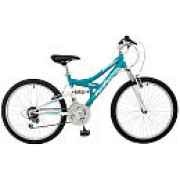 Pacific Cycle Chromium 24 inch Girl's Mountain Bike, $105.21, UrbanScooters.com