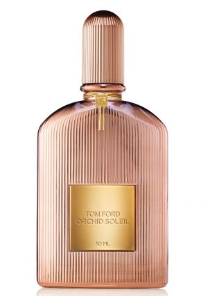 Tom Ford announces the new women's fragrance Orchid Soleil, to be out in July 2016. Orchid Soleil presents a summer version of the popular vamp perfume Black Orchid launched in 2006. The composition opens with spicy notes of pink pepper, bitter orange and cypress. Its vibrant heart blooms with red spider lily and tuberose, enveloped by the warm base of chestnut cream, vanilla, patchouli and orchid.