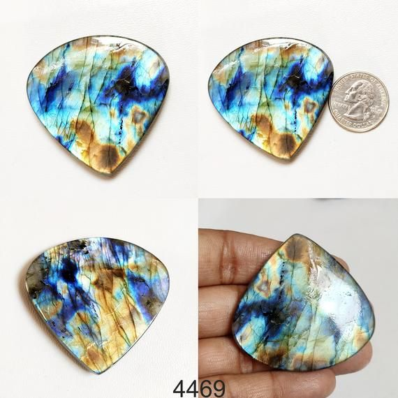 Jewelry Making Stone MT20 Amazing Labradorite Gemston Labradorite Cabochon Wholesale Supplies 42 Cts Natural Labradorite Gemstone