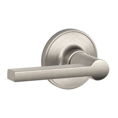Schlage J Series Solstice Passage Door Lever & Reviews | Wayfair