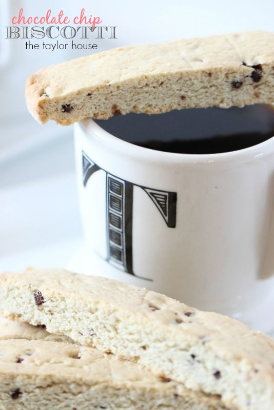Chocolate Chip Biscotti Recipe using our favorite Truvia Sugar Blend! Sip your coffee or hot chocolate with this recipe.