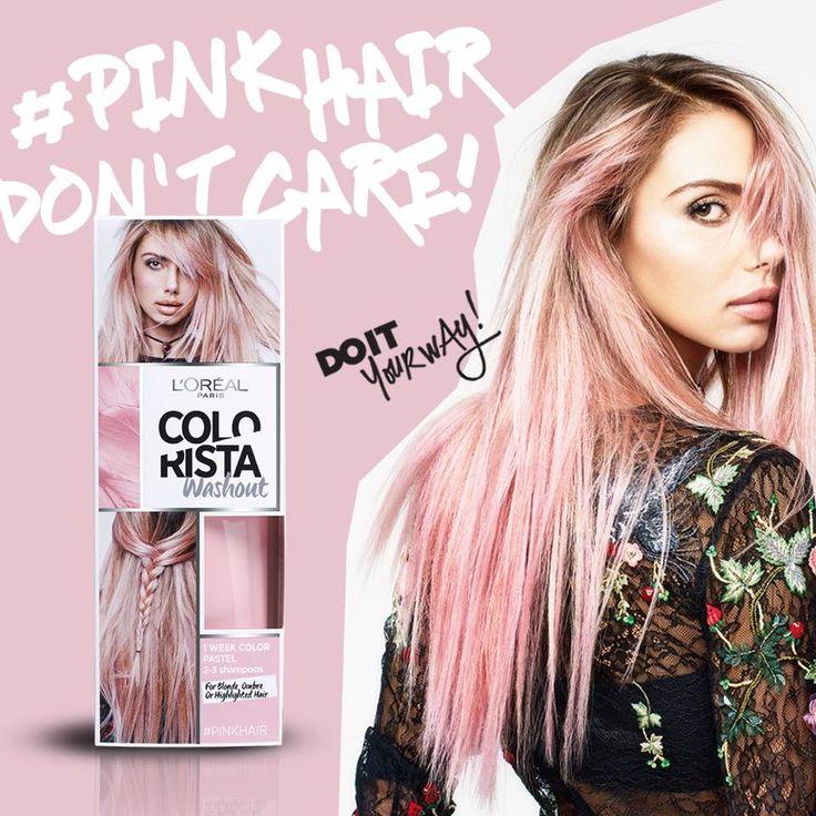 Colorista L'Oréal: il colore per fare capelli rosa, grigi, azzurri