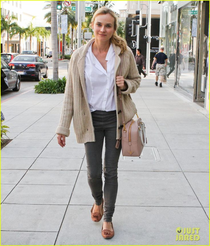 Diane Kruger: Fendi Shopping Spree! | diane kruger fendi shopping 12 - Photo