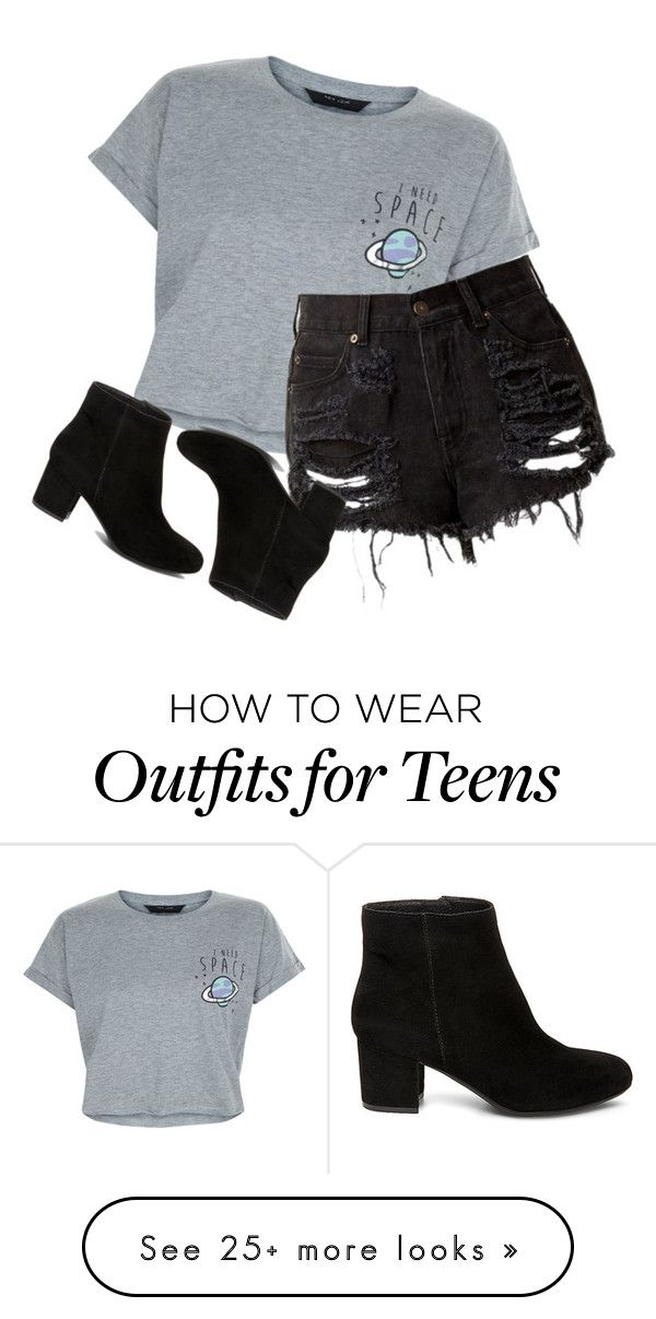 """""""blehhhhh"""" by rejected-outcast on Polyvore featuring New Look and Steve Madden"""