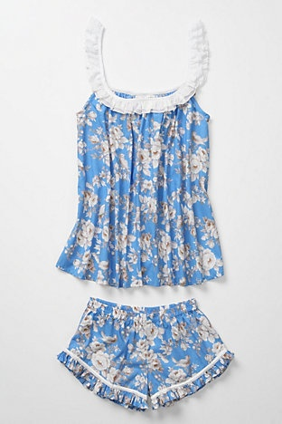 Must DIY pajamas from anthropologie. No longer available