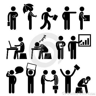 Travail d homme de gens de lieu de travail de bureau de finances d affaires