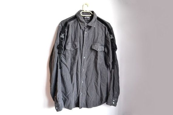 Dolce &Gabbana washed black / gray cotton shirt for men ...and women!