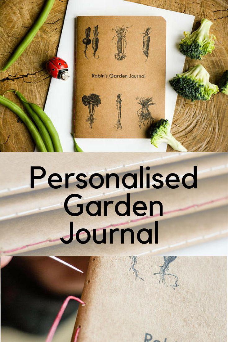 personalised garden journal gardener's notebook gardener gift housewarming gift garden planner allotment planner custom notebook garden artAsk a question #gardenplanner #gardennotebook #gardenjournal #personalisedgardenjournal #ad