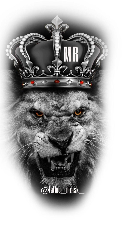 тат by Nikolai Kostov Lion head tattoos, Lion tattoo