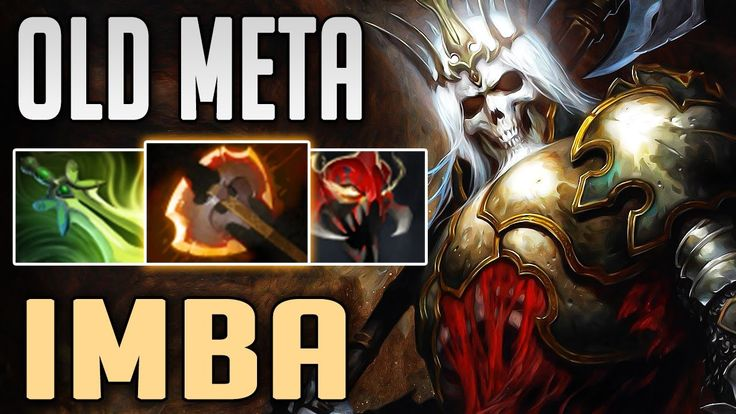 Old META Wraith King with Butterfly and BattleFury by rmN- | Dota 2 7.06 WK Highlights