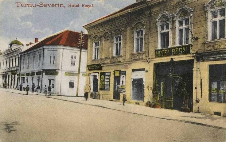 Turnu Severin - Hotel Regal - interbelica