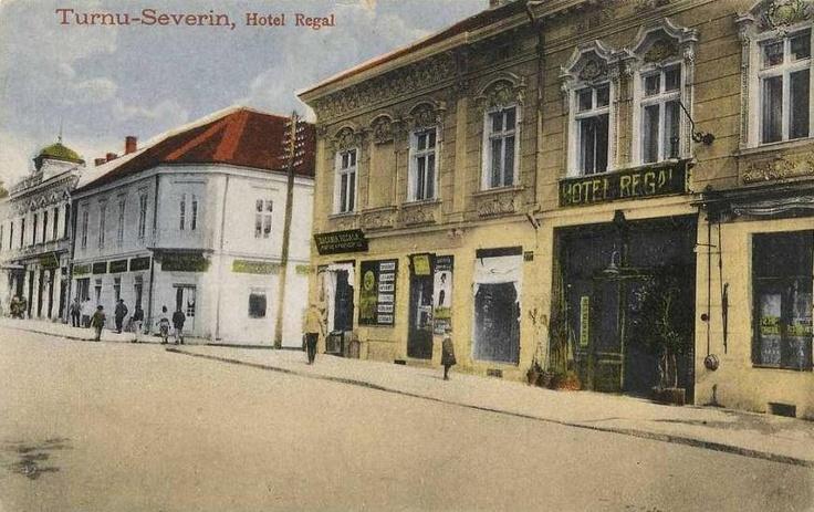 Turnu Severin - Hotel Regal - interbelica
