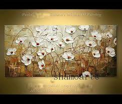 pinturas al oleo de flores abstractas ile ilgili görsel sonucu