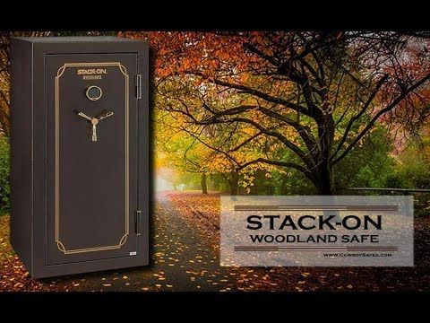 Stack On Gun Safe Woodland Gun Safe Series. Stack-On is well-known among Gun Owners for their Quality and Affordable Safes - www.CowboySafes.com