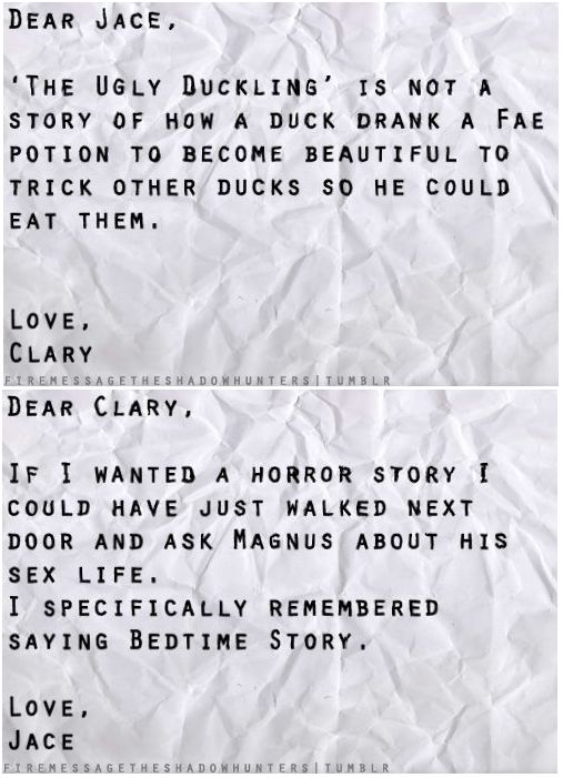 Bedtime story ...