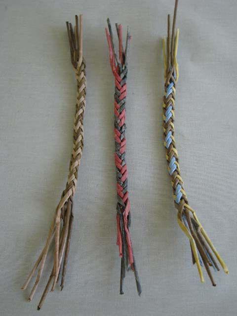 Варианты плетения ручки