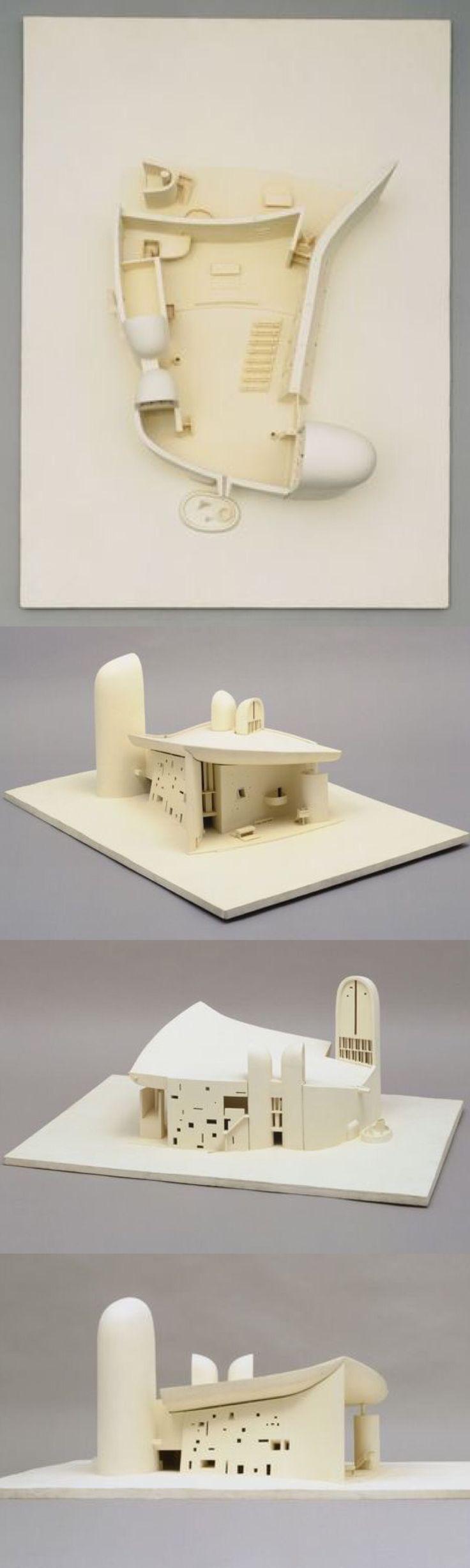 MoMA   The Collection   Le Corbusier (Charles-Édouard Jeanneret). Chapelle Notre-Dame-du-Haut, Ronchamp 1950–55. 1950–1955