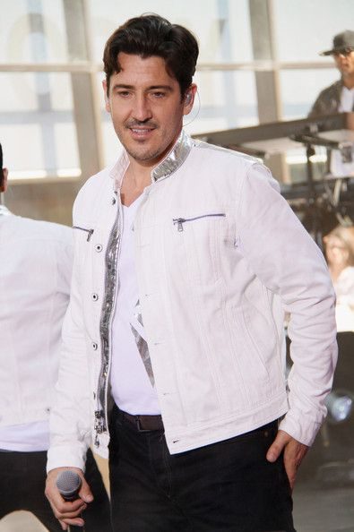 Jonathan Knight Photos Photos - Jordan Knight, Jonathan Knight, Joey McIntyre, Donnie Wahlberg, and Danny Wood, band members of the 'New Kids On The Block' host an evening at Pure Nightclub, Caesars Palace Hotel and Casino in Las Vegas. - New Kids on the Block in Vegas