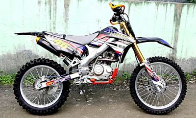 Modifikasi Motor KLX 150 Trail