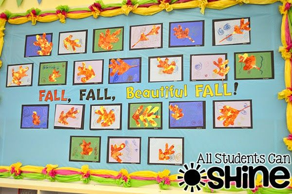 All Students Can Shine: Fall Leaves ART Project